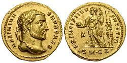 1 Aureo Impero romano (27BC-395) Oro Massimino II (270 - 313)