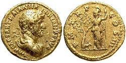 1 Aureo Impero romano (27BC-395) Oro Adriano (76 - 138)