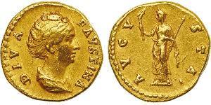 1 Aureo Impero romano (27BC-395) Oro Faustina II (130-175)