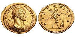 1 Aureus Römische Kaiserzeit (27BC-395) Gold Aurelian (215-275)