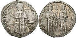 1 Basilikon Imperio bizantino (330-1453) Plata Andrónico II (1258-1332)