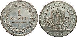 1 Batz Switzerland Silver