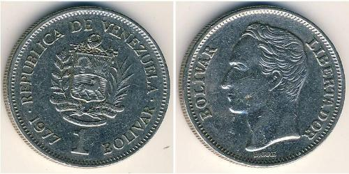 1 Bolivar Venezuela Kupfer/Nickel