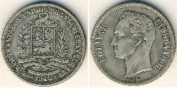 1 Bolivar Venezuela Plata