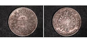 1 Boliviano Bolivia (1825 - ) Argento