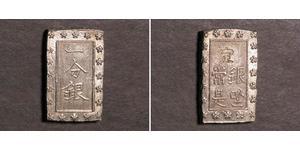 1 Bu Tokugawa shogunate (1600-1868) Silver