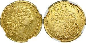 1 Carolin Electorate of Bavaria (1623 - 1806) Gold