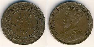 1 Cent 加拿大 銅 乔治五世  (1865-1936)