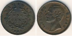 1 Cent 砂拉越 銅