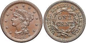 1 Cent 美利堅合眾國 (1776 - ) 銅