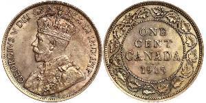 1 Cent 加拿大 青铜 乔治五世  (1865-1936)