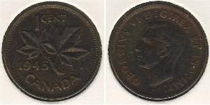 1 Cent 加拿大 青铜 乔治六世 (1895-1952)