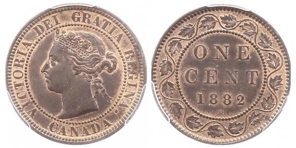 1 Cent 加拿大 青铜 维多利亚 (英国君主)
