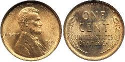 1 Cent 美利堅合眾國 (1776 - ) 青铜 亚伯拉罕·林肯