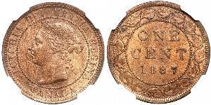 1 Cent Canada Bronze Victoria (1819 - 1901)