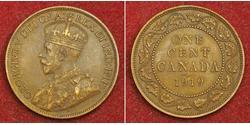 1 Cent Kanada Bronze George V (1865-1936)