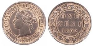 1 Cent Kanada Bronze Victoria (1819 - 1901)