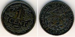 1 Cent Kingdom of the Netherlands (1815 - ) Bronze