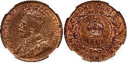 1 Cent Neufundland und Labrador Bronze George V (1865-1936)