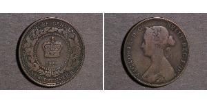 1 Cent Neufundland und Labrador Bronze Victoria (1819 - 1901)