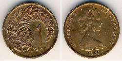 1 Cent New Zealand Bronze