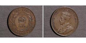1 Cent Newfoundland and Labrador Bronze George V of the United Kingdom (1865-1936)