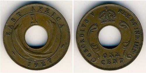 1 Cent Ostafrika Bronze