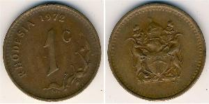 1 Cent Rhodésie (1965 - 1979) Bronze