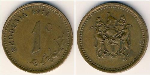 1 Cent Rhodesia (1965 - 1979) Bronze