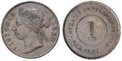 1 Cent Straits Settlements (1826 - 1946) Bronze