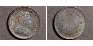 1 Cent Straits Settlements (1826 - 1946) Bronze Eduard VII (1841-1910)