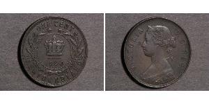 1 Cent Terre-Neuve-et-Labrador Bronze Victoria (1819 - 1901)