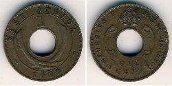 1 Cent Africa orientale Bronzo