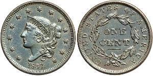 1 Cent Estados Unidos de América (1776 - ) Cobre