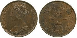 1 Cent Hong Kong Cobre Victoria (1819 - 1901)