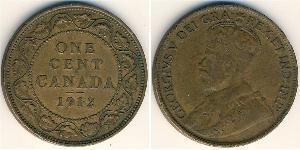 1 Cent Canada Copper George V of the United Kingdom (1865-1936)