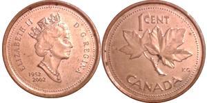 1 Cent Canada Copper Elizabeth II (1926-)