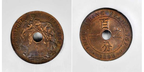 1 Cent French Indochina (1887-1954) Copper