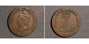 1 Cent Liberia Copper