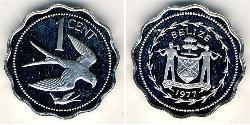 1 Cent Belize (1981 - ) Copper/Nickel