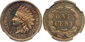 1 Cent USA (1776 - ) Copper/Nickel