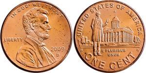1 Cent USA (1776 - ) Copper/Zinc Abraham Lincoln (1809-1865)