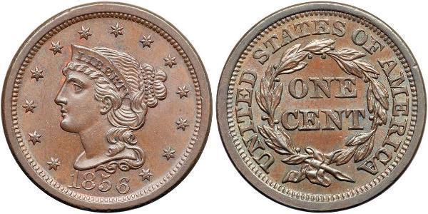1 Cent États-Unis d