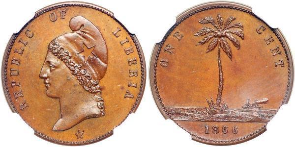 1 Cent Liberia Cuivre
