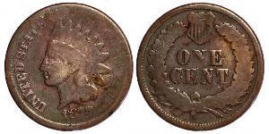 1 Cent USA (1776 - ) Tin/Copper/Zinc