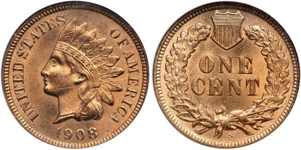 1 Cent USA (1776 - ) Tin/Copper/Zinc