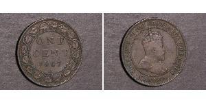1 Cent Kanada Tin/Kupfer/Zink Eduard VII (1841-1910)