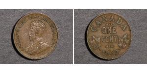 1 Cent 加拿大  乔治五世  (1865-1936)