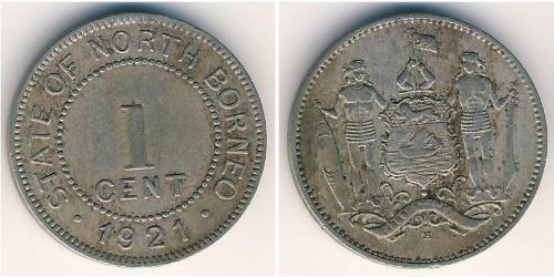 1 Cent Borneo Septentrional (1882-1963)