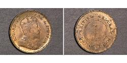 1 Cent British Honduras (1862-1981)  Edward VII (1841-1910)